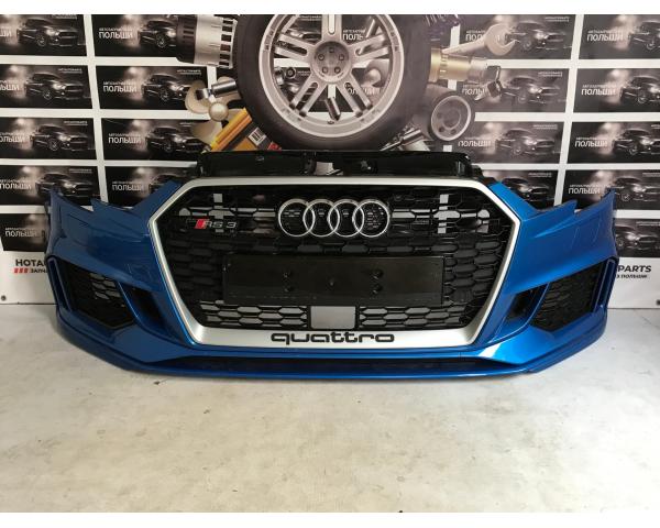 Бампер передний Audi RS3 2015-