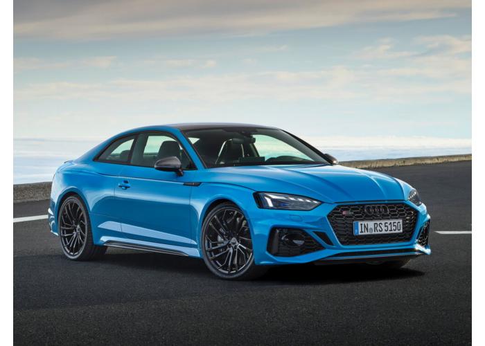 Audi RS5 рестайлинг 2019, купе, 2 поколение, F5 (09.2019 - н.в.) - технические характеристики и комплектации