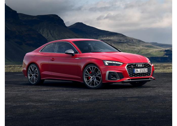 Audi S5 рестайлинг 2019, купе, 2 поколение, B9 (09.2019 - н.в.) - технические характеристики и комплектации